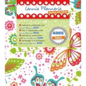 Textil Lennie Flennerie, 50x70cm en tissu, papillons