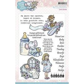 Stempel / Stamp: Transparent Clear stempels, schattige baby motieven