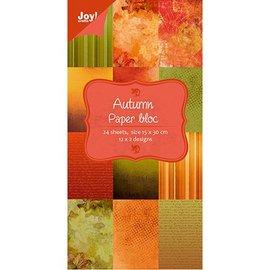 Joy!Crafts / Jeanine´s Art, Hobby Solutions Dies /  Ontwerpers blok van Joy Crafts, 15x30cm - Herfst