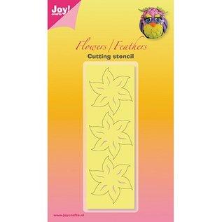 Joy!Crafts / Jeanine´s Art, Hobby Solutions Dies /  Ponsen en embossing sjabloon, bloemen en bladeren