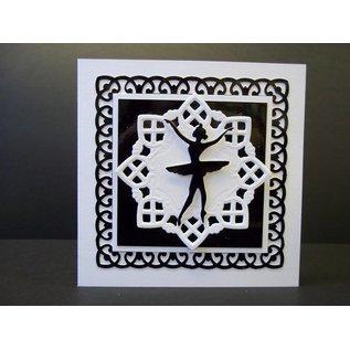 Marianne Design Cutting en embossing stencils Creatables, Doily square