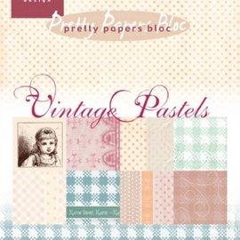 Karten und Scrapbooking Papier, Papier blöcke Pad di carta, A5, Vintage Pastels