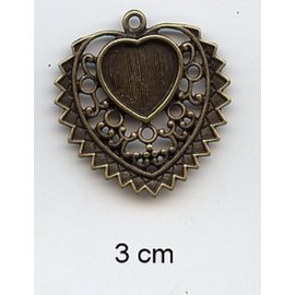 Embellishments / Verzierungen Charms, 2 pieces