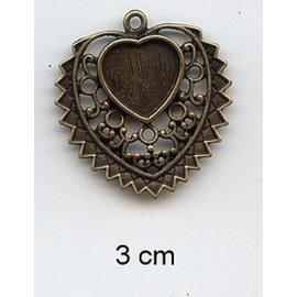 Embellishments / Verzierungen Charms, 2 piezas