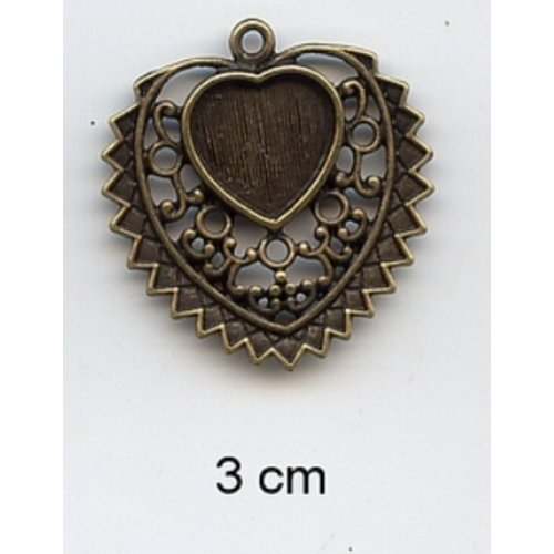 Embellishments / Verzierungen Breloques, 2 pièces