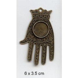 Embellishments / Verzierungen Charm, 1 Stück