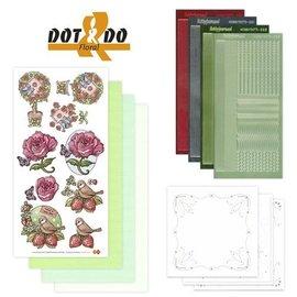 STICKER / AUTOCOLLANT Sticker Craft Kit: Dot & Do, bloemen