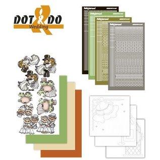 STICKER / AUTOCOLLANT Sticker Craft Kit: Dot & Do, Bruiloft