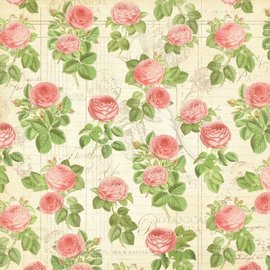 "GRAPHIC 45 Diseñador de papel ""Tea Botánico - Flora Silvestres"", 30,5 x 30,5 cm"