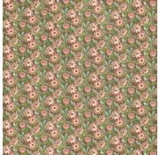 "GRAPHIC 45 Designer Paper ""Botanisk Tea - Field of Flowers"", 30,5 x 30,5 cm"