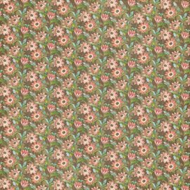 "GRAPHIC 45 Designer papir ""Botanisk Tea - Field of Flowers"", 30,5 x 30,5 cm"