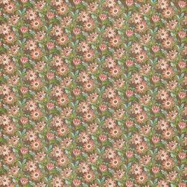 "GRAPHIC 45 Diseñador de papel ""Tea Botánico - Campo de las Flores"", 30,5 x 30,5 cm"