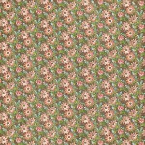 """GRAPHIC 45 Designer Paper """"Botanische Tea - Gebied van Bloemen"""", 30,5 x 30,5 cm"""