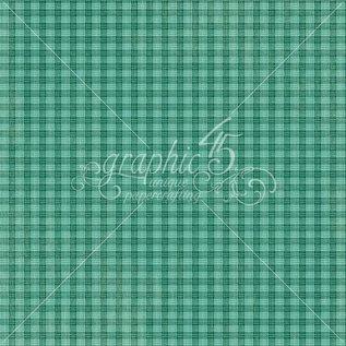 "GRAPHIC 45 Designer Paper ""regent pijpenstelen -Mr. Whiskers"", 30,5 x 30,5 cm"
