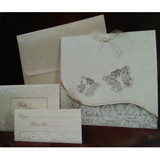 Bastelset: Edele en Filigrane vlinder kaarten