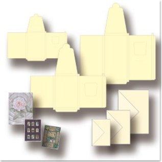 Maak LED Card Set met verlichting