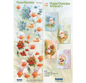 BASTELSETS / CRAFT KITS Bastelset Cream Quackers, mit Produktvideo in unser Kreativ-Blog