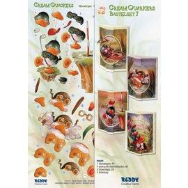 BASTELSETS / CRAFT KITS Bastelset Cream Quackers Thema: Hobby