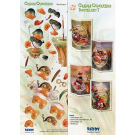 BASTELSETS / CRAFT KITS Bastelset Cream Quackers Topic: Hobby