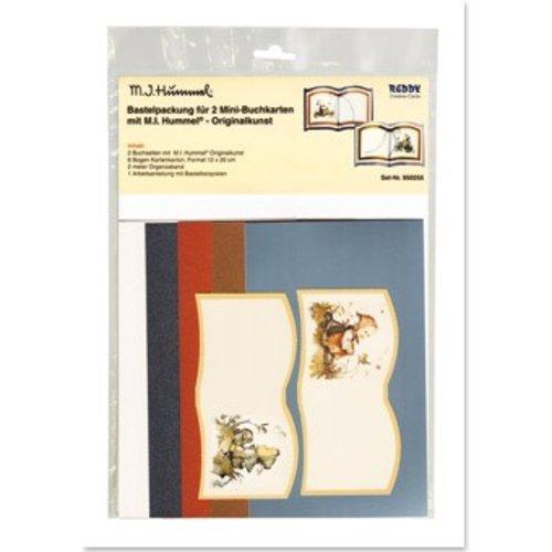 BILDER / PICTURES: Studio Light, Staf Wesenbeek, Willem Haenraets Original art MI Hummel Bastelset 2 mini book tickets