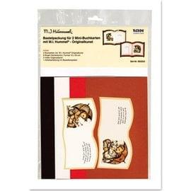 Bilder, 3D Bilder und ausgestanzte Teile usw... Originalkunst M.I. Hummel Bastelset 2 Mini-Buchkarten