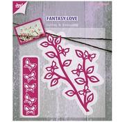 Joy!Crafts / Jeanine´s Art, Hobby Solutions Dies /  Taglio e goffratura stencil ramo con le farfalle