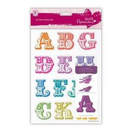 Docrafts / X-Cut Sello con grandes letras de la A a H