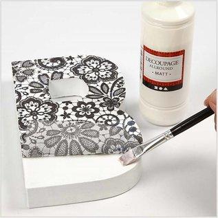 Karten und Scrapbooking Papier, Papier blöcke Decoupage Papier, Sortiment black and white, Blatt 25x35 cm, 8 sort. Blatt, Blatt 25x35 cm, 8 sort. Blatt