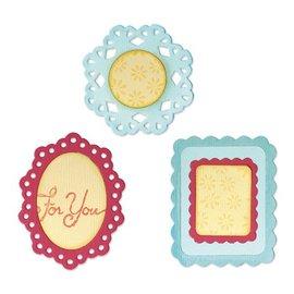 Sizzix Sizzlits medium - (3) Decorative Frames