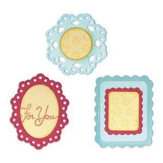 Sizzix Sizzlits medium - (3) Decoratieve Frames