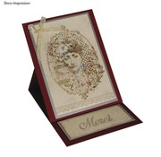 IndigoBlu Stamp A6: Miss Austen, 140x110mm