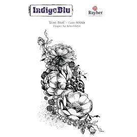 IndigoBlu Stamp A6: Rose Blush, 140x110mm