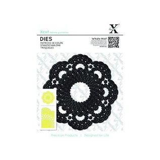 Docrafts / X-Cut Gaufrage et tapis de coupe, XCUT, dentelle Doilie