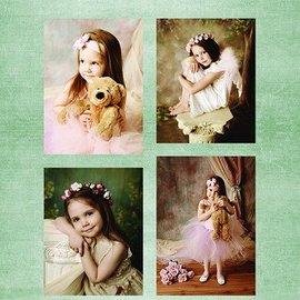 Nellie Snellen Decoupage hojas A4 - Girls Vintage