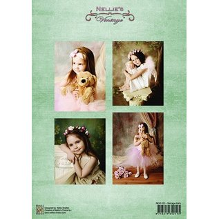 Nellie Snellen Knipvellen A4 - Vintage Girls