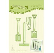 Leane Creatief - Lea'bilities und By Lene Leabilities, stamping - and embossing stencil, Garden Tool
