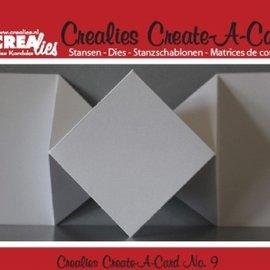Crealies und CraftEmotions NOUVEAU: Coupage du métal meurt pour cartes pop-up!