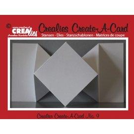 Crealies und CraftEmotions NUEVO: El corte de metal muere por tarjetas pop-up!