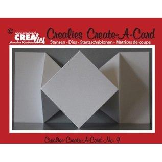 Crealies und CraftEmotions NEU: Metal Stanzschablonen, für Pop-Up Karten!
