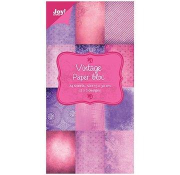 Joy!Crafts / Jeanine´s Art, Hobby Solutions Dies /  Papir blok Vintage