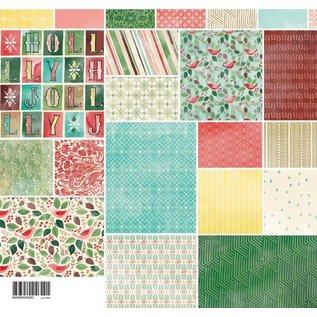 Karten und Scrapbooking Papier, Papier blöcke Ontwerpers blok, Basic Grey - Evergreen - Collection Pack
