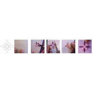BASTELSETS / CRAFT KITS Materiaal set: Anniversary / Set van 6 kaarten met gloeiende