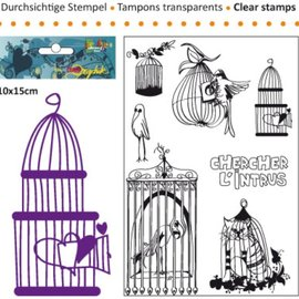 Kaisercraft und K&Company Clear stamps