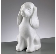 Objekten zum Dekorieren / objects for decorating Styrofoam shape, Dog, 240 mm,