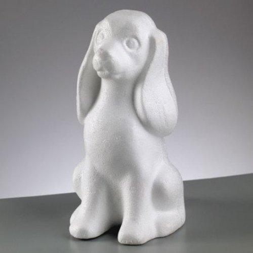 Objekten zum Dekorieren / objects for decorating Piepschuim vorm, Hond, 240 mm,