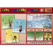Bücher, Zeitschriften und CD / Magazines Een boek met 16 kleuren van de achtergrond met borduren!
