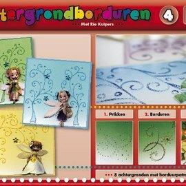 Bücher, Zeitschriften und CD / Magazines Un libro con 16 colores el fondo con bordado!