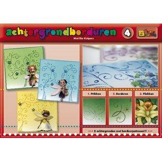 Bücher, Zeitschriften und CD / Magazines Ein buch mit 16 farbige Hintergrunde mit Stickmuster!