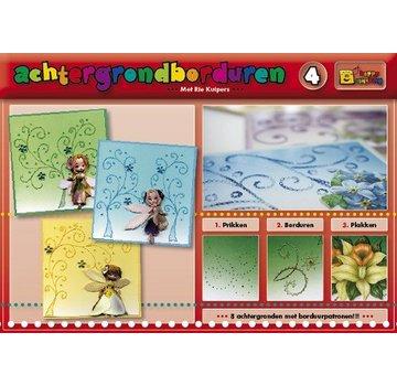 Bücher, Zeitschriften und CD / Magazines Un libro con 16 colore di sfondo con ricami!