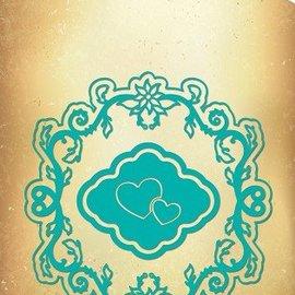Nellie Snellen Vintasia prægning og udskæring mat, multi-skabelon, hjerter og ramme